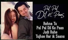 Pal Pal Dil Ke Paas Lyrics - Old and New Songs - Details - Song Tabs Lyric